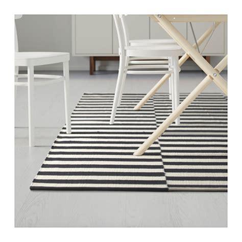 ikea stockholm rug stockholm rug flatwoven handmade striped black off white 170x240 cm ikea