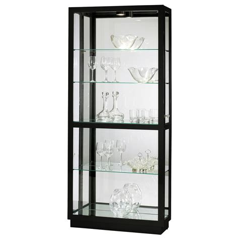 howard miller lighted curio cabinet howard miller iii curio display cabinet 680572