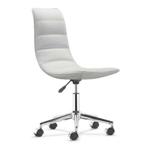 white fluffy desk chair office chair white wooden stained computer desk grey
