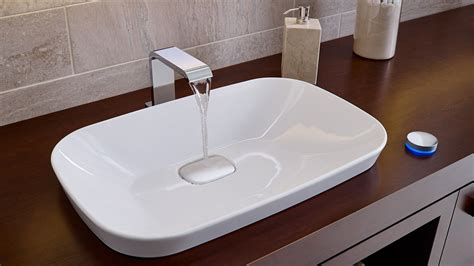 semi recessed vessel sink neorest 174 kiwami 174 semi recessed vessel lavatory totousa com