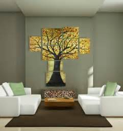 Large Wall Art by Extra Large Tree Painting Of Modern Tree Of Life Huge