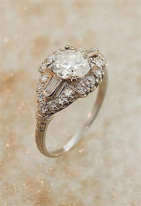 wedding antique deco ring 2068234