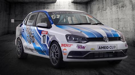 volkswagen car volkswagen ameo cup race car is the car from