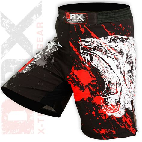 mma grappling shorts ufc fighter mix cage fight kick