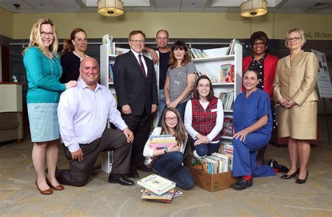 Waterbury Hospital Detox by Waterbury Hospital Receives Book Donation Waterbury Health