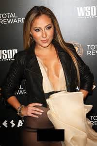 adrienne bailon wardrobe malfunction worst see through