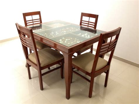 Best Dining Table Design Glass Top Dining Tables With Wood Base Furniture Fancy Furniture Modern Dining Table With Glass