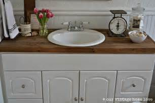 farm sink bathroom our vintage home farmhouse bathroom