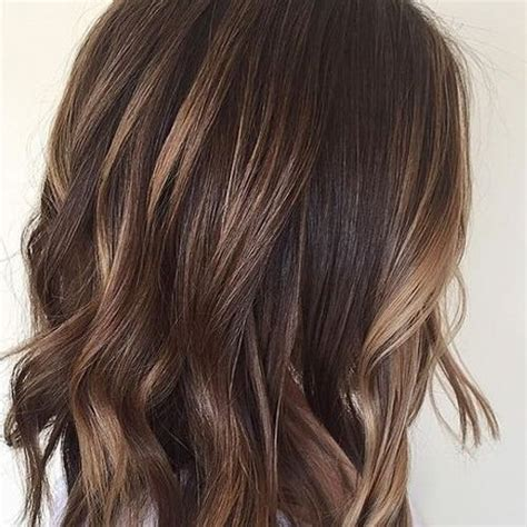 highlights on dark hair 50 50 charming brown hair with blonde highlights suggestions