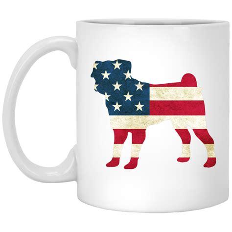 top pet gifts usa flag pug mug top pet gifts