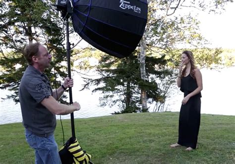Lighting For Outdoor Portraits How To Mix Ambient Light And Fill Flash For Outdoor Portraits