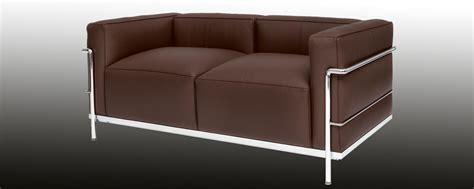 lc sofa corbusier designed sofa lc 32 steelform design classics