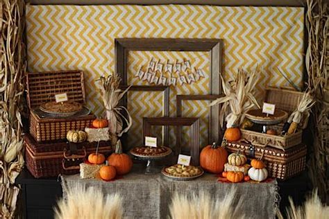 fall birthday decorations kara s ideas fall themed pumpkin boy harvest