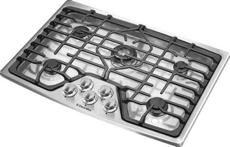 electrolux 30 gas cooktop ew30gc60is electrolux 30 quot gas cooktop w 5 burners