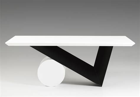 Century Dining Room Furniture by Bauhaus Modern Black And White Dining Table