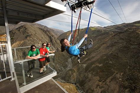 biggest swing in the world new zealand the nevis swing blades magazine
