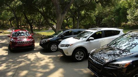 honda jeep 2014 2014 jeep cherokee vs toyota rav4 vs ford escape vs honda