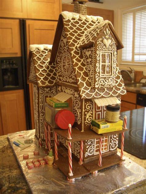 gingerbread house  winter wonderland goodies  anna