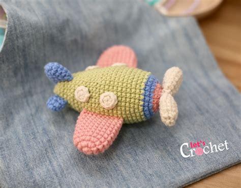 amigurumi airplane pattern free mini amigurumi airplane free crochet pattern