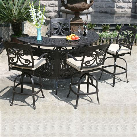 Bar Style Patio Furniture Restaurant Bar Stools Clearance Novara Sling Bar Stool Patio Mommyessence