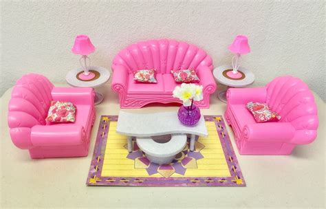 barbie doll house furniture for sale dolls gloria barbie size dollhouse furniture living room set for sale in outside