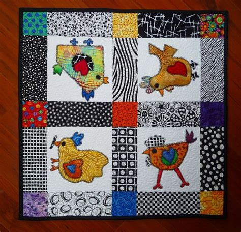 Patchwork Parade - 340 best images about rooster quilts on