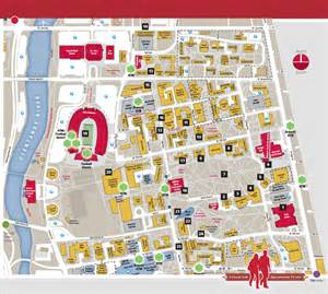 Ohio State Campus Map by Location The Osu Buckeyes