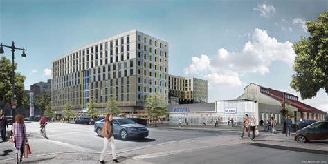 lincoln development 100m lincoln square development proposed for broad and