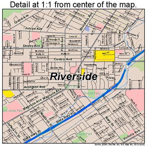 us map riverside california riverside california map 0662000