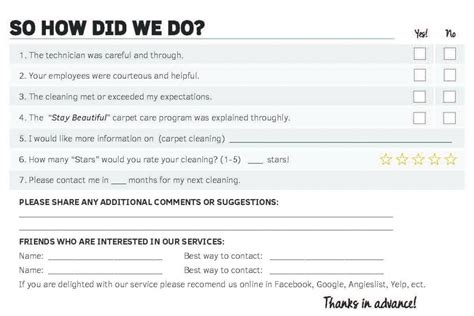 Customer Service Comment Card Template by Customer Service Comment Cards Pictures To Pin On
