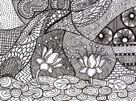 Artists Of India Doodle Zentangle By Sandhya