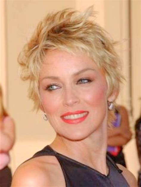 hair styles for over 60 s with thick waivy hair short hair cuts for women with curly hair hairs picture
