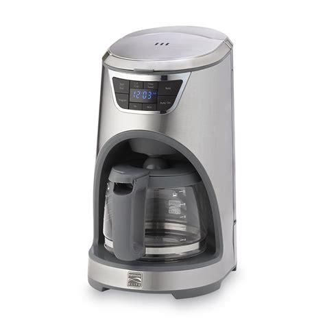Kenmore Comfort 12 by Kenmore Elite 369199 12 Cup Drip Coffee Maker Stainless Steel