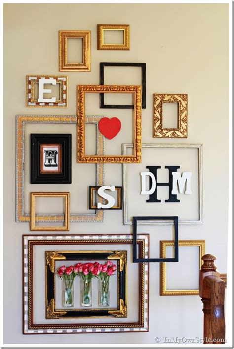 picture frame wall decor picture frame gallery wall with a in