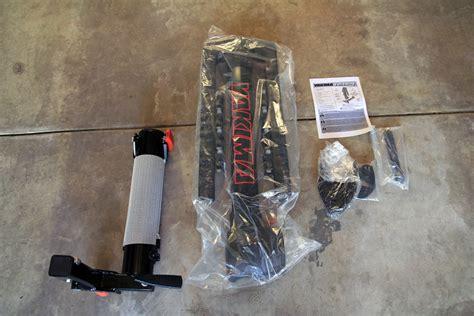 yakima full swing review yakima fullswing 4 bike hitch mast rack bikerumor