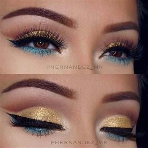 what make up does posha use best ideas for makeup tutorials bright gold and green