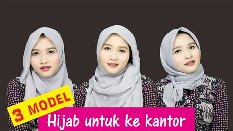 tutorial hijab ke kus 3 tutorial hijab segiempat paris untuk ke kantor amalia