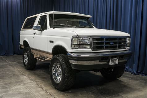 ford bronco lifted used lifted 1996 ford bronco eddie bauer 4x4 suv for sale