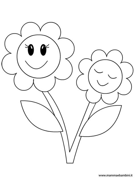 fiori da colorare e stare per bambini disegno da colorare mamma e bambini disegno rosa da