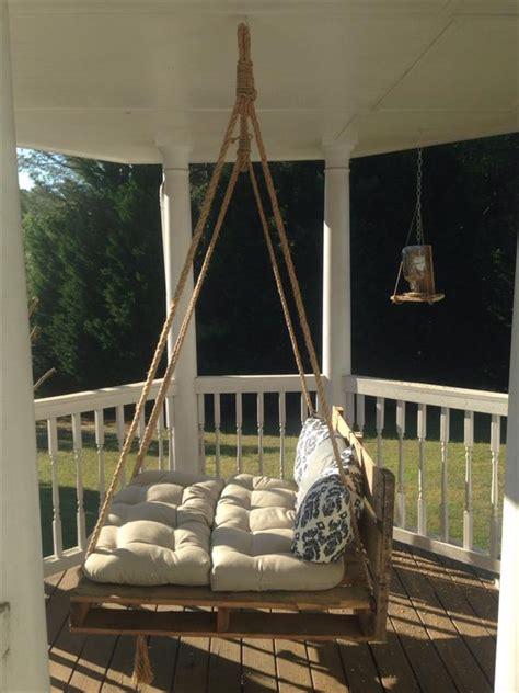 pallet bed swing diy pallet bed porch swing pallet furniture plans
