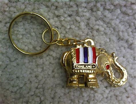Mancanegara Gantungan Kunci Souvenir Taiwan karya babah antik gantungan kunci gajah thailand souvenir 1