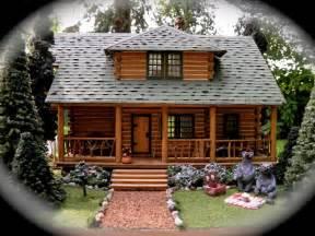theweetinker log cabin in miniature