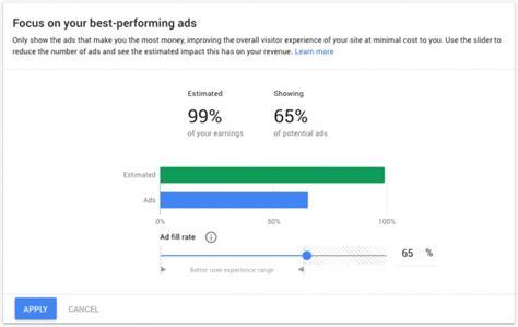 adsense balance not updating adsense rolls out ad balance optimization tool for