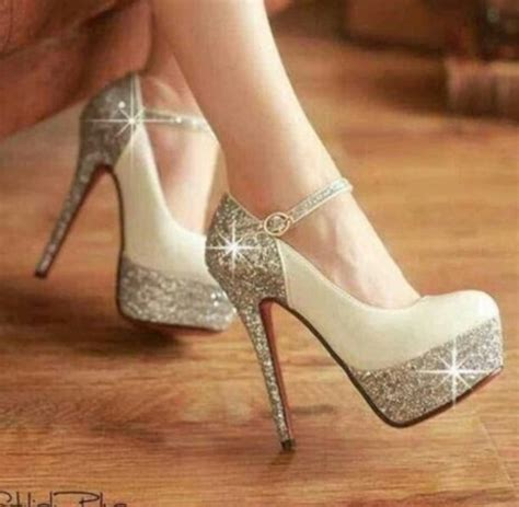 shoes beautiful glitter glitter shoes prom shoes