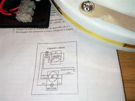 ventola a soffitto installare un ventilatore da soffitto con comando a muro