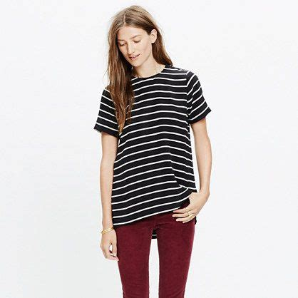 Maura Stripe Blouse Blouse And Black 1363 best wardrobe images on madewell dress