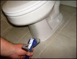 today s home inspection plumbing caulk toilet at floor