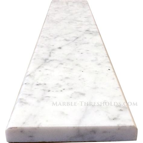 top 28 carrara threshold white carrara marble threshold size 48 x 6 x 3 4 american olean