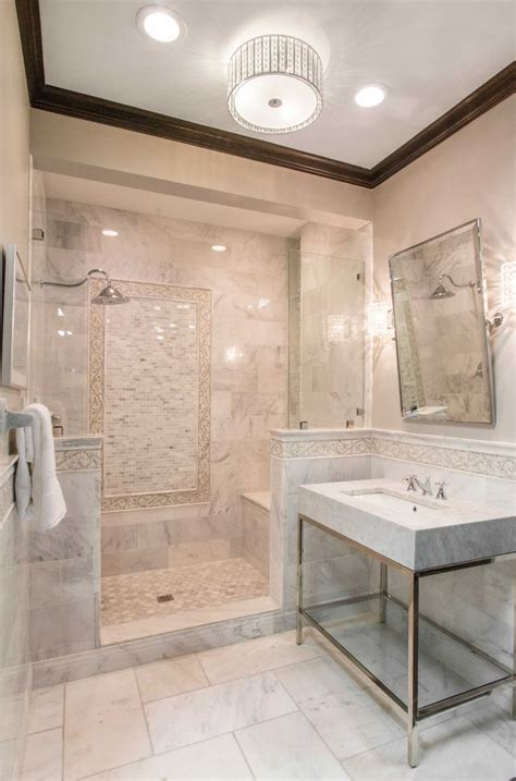 marble tile bathroom ideas best 20 carrara marble bathroom ideas on pinterest