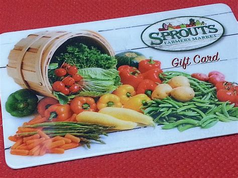 Sprouts Gift Cards - 250 sprouts farmers market gift card whole mom